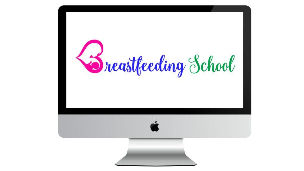 Breastfeeding School on iMac Screen for Breastfeeding School by Haydee Montemayor - www.breastfeedingschool.com
